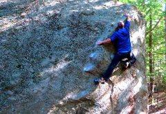 Rock Climbing Photo: Trending south