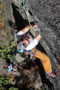 Rock Climbing Photo: Devon. Climbing. Torie belays.