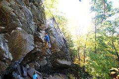 Rock Climbing Photo: Me. I climb. I live.