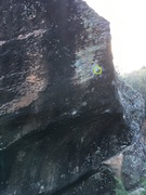Rock Climbing Photo: The left Side of The Wave. A good view of the knob...