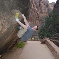 Rock Climbing Photo: Hanging around in Zion