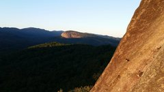 Rock Climbing Photo: Looking Glass from near the top of North Cedar.
