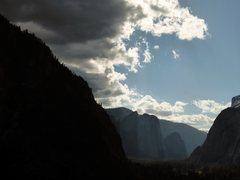 Rock Climbing Photo: Gloomy day on the Super Slide.