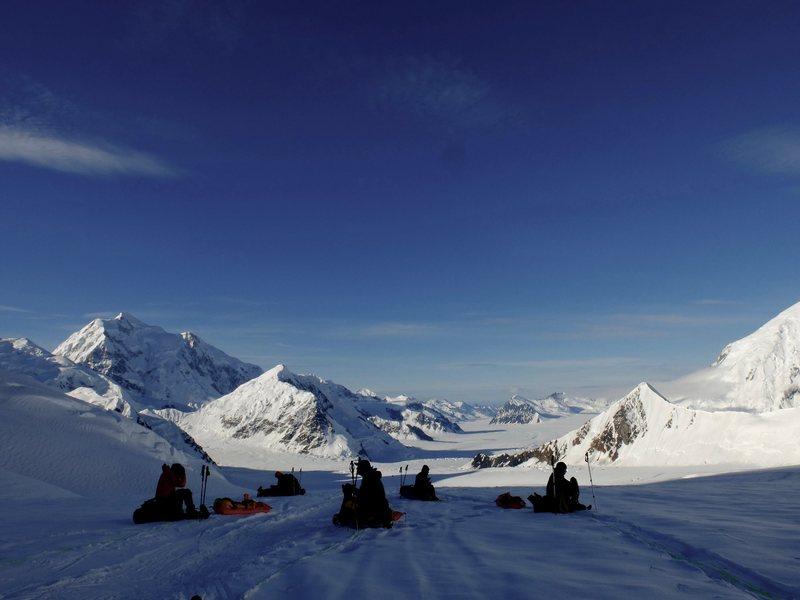 Above Ski hill