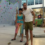 Rock Climbing Photo: Ashima Angus and Matt Segal