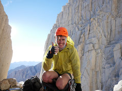 Rock Climbing Photo: thumbs up for numero 2