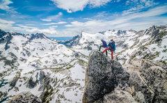 Rock Climbing Photo: At the top. Woooo!