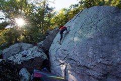 Rock Climbing Photo: Super Slab (V0) Photo: Ryan Ruffing