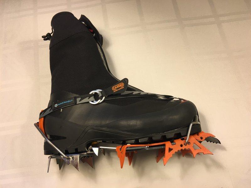 Acrteryx Acrux AR Boots and Cassin Blade Runner Crampons