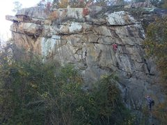 Rock Climbing Photo: Nice shot from the road