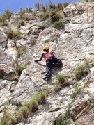 Rock Climbing Photo: Alberta on Watch Out For Falling Rocks