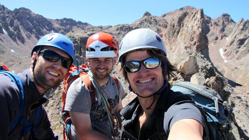 Rock Climbing Photo: Group summit shot.