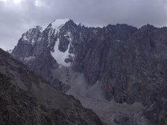 Rock Climbing Photo: Ak Sai Glacial Valley, opposite the Ratsek Trail