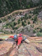Rock Climbing Photo: Above the Upper Ramp.