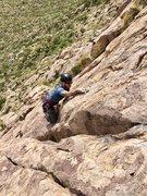 Rock Climbing Photo: Making way up Crosstrainer