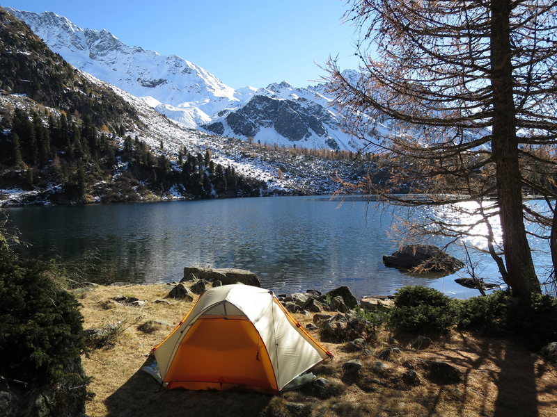 """Rock Climbing Photo: Another favorite """"tent shot"""", this time ..."""