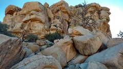 Rock Climbing Photo: Photogenic east side, especially when merely stumb...