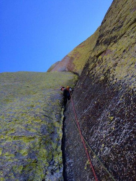 Rock Climbing Photo: living corner