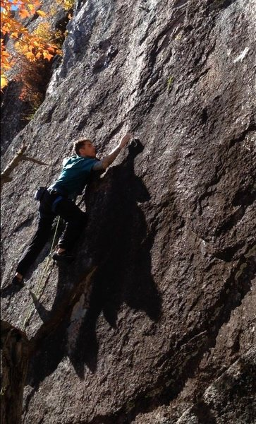 Technical climbing that doesn't really let up until you stick the dyno