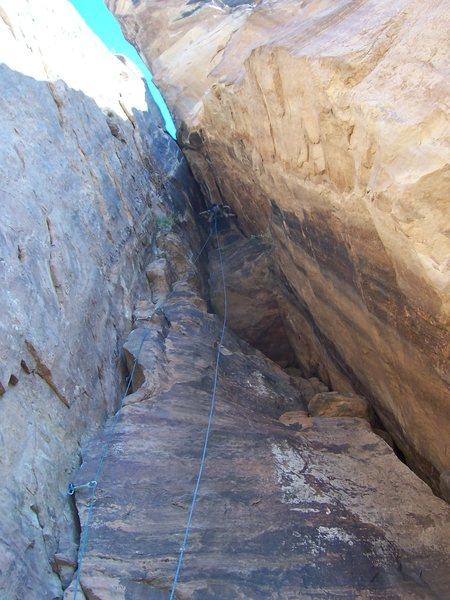 "Rock Climbing Photo: The ""Calvinator"" pitch, 2009"