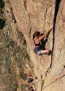 Rock Climbing Photo: Courtney on ODC.