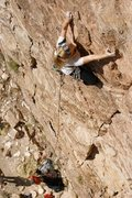 Rock Climbing Photo: Natalie on AAA (I think).