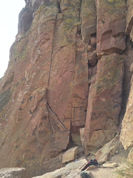 Rock Climbing Photo: Photo of crack