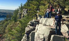 Rock Climbing Photo: Ah, Saturday