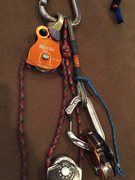 Rock Climbing Photo: Swivel pulley with ball bearing sheave