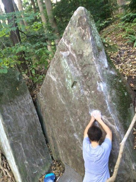 Rock Climbing Photo: Jackie Chan