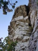 Rock Climbing Photo: A different view of the Twilight Zone overhang