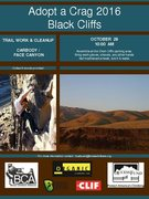 Rock Climbing Photo: Adopt-a-Crag_2016_BlackCliffs