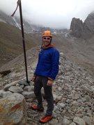 Rock Climbing Photo: Climbing in Kyrgyzstan