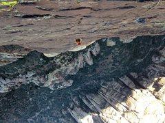 Rock Climbing Photo: Crimson Chrysalis, Red Rock