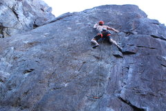 Rock Climbing Photo: Solid feet throughout most the climb excluding the...