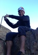 Rock Climbing Photo: Alex Barnett bringing me up.