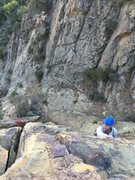 Rock Climbing Photo: That's me on Rational Expectations