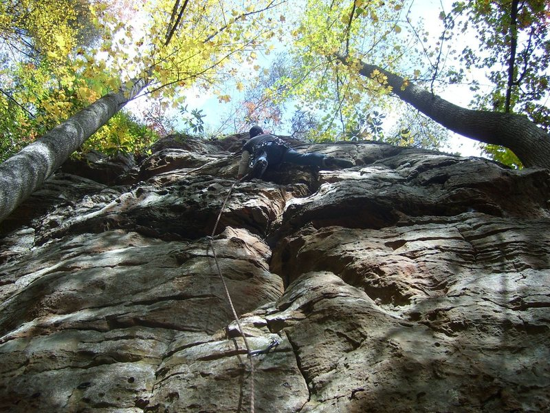 Rock Climbing Photo: Having fun on MMP