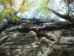 Rock Climbing Photo: Having fun on MMP