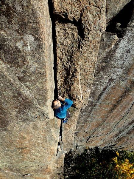 Rock Climbing Photo: Esthesia   Photo by AJ