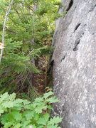 Rock Climbing Photo: Photo#11 - After climbing scree slope, go Up-and-L...