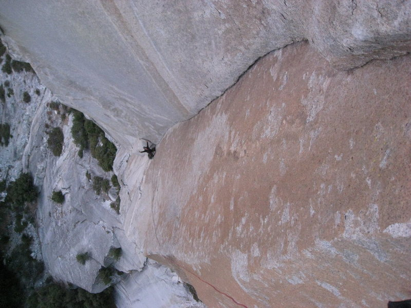 Rock Climbing Photo: 2nd pitch glory Golden Dihedral