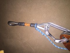 Rock Climbing Photo: Custom wire draw