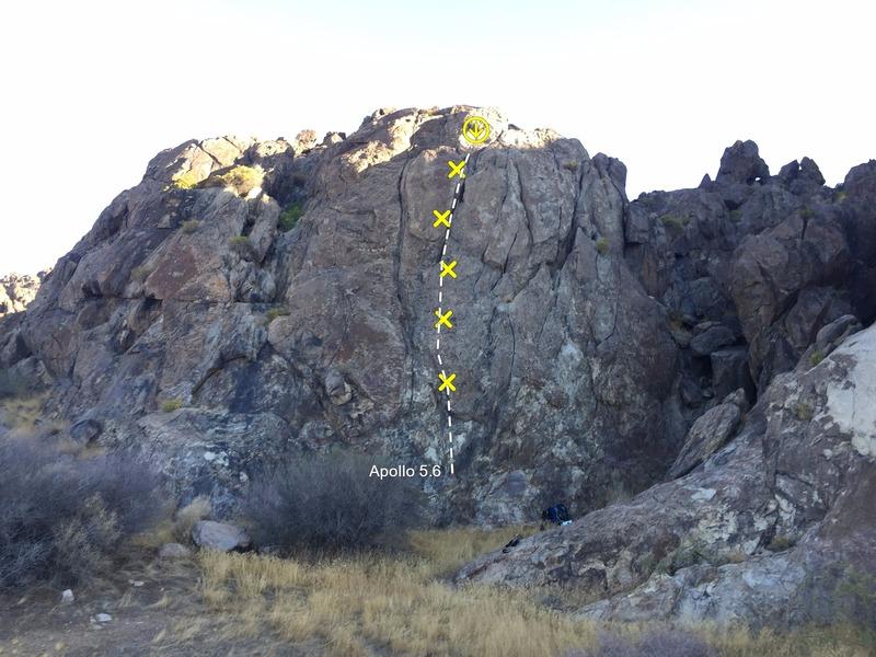 Rock Climbing Photo: Apollo