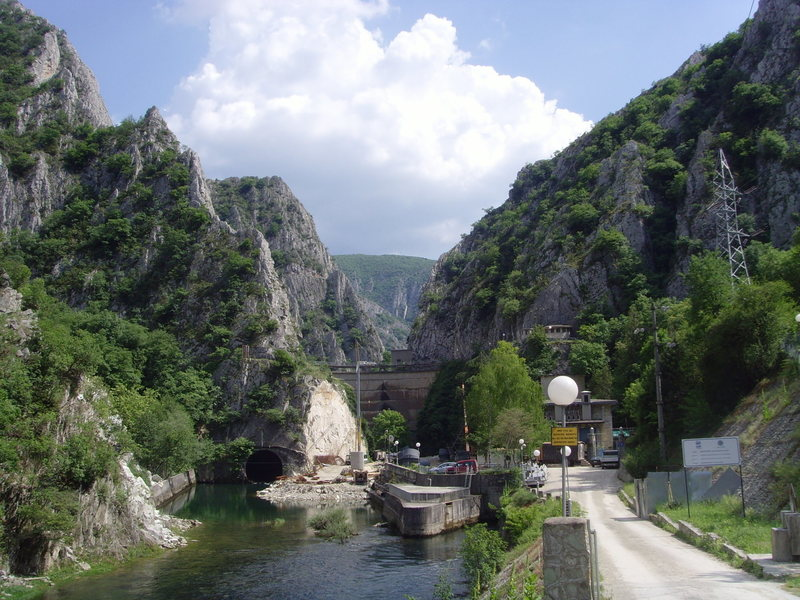 entrance to the gorge