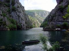 Rock Climbing Photo: The long winding gorge