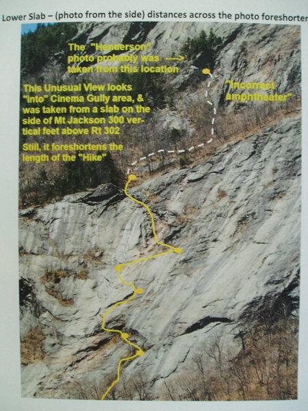 Standard Route - Lower Slabs (Left Variant)