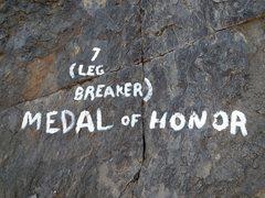Rock Climbing Photo: Medal of Honor aka Leg Breaker