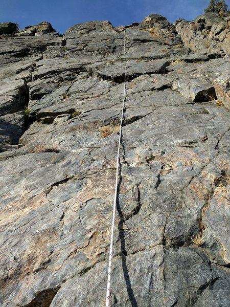 Rock Climbing Photo: Fontaine's Face