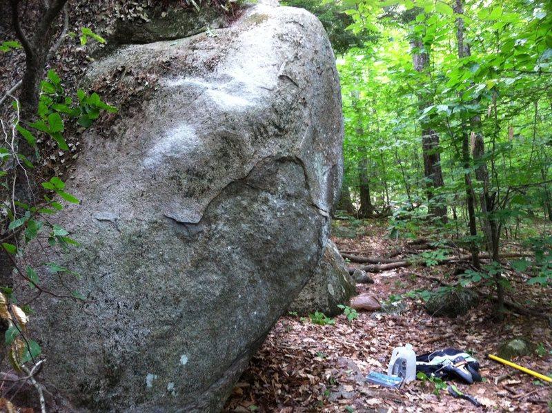 Rock Climbing Photo: Climb this funky arête!